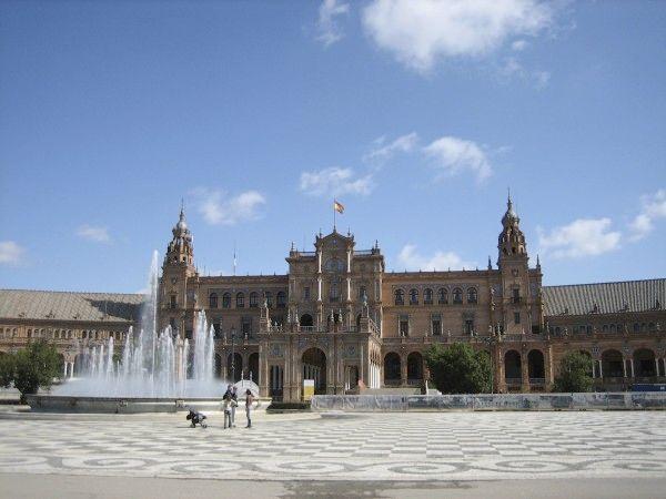 Fotolog de mauricio13: Plaza España,Sevilla